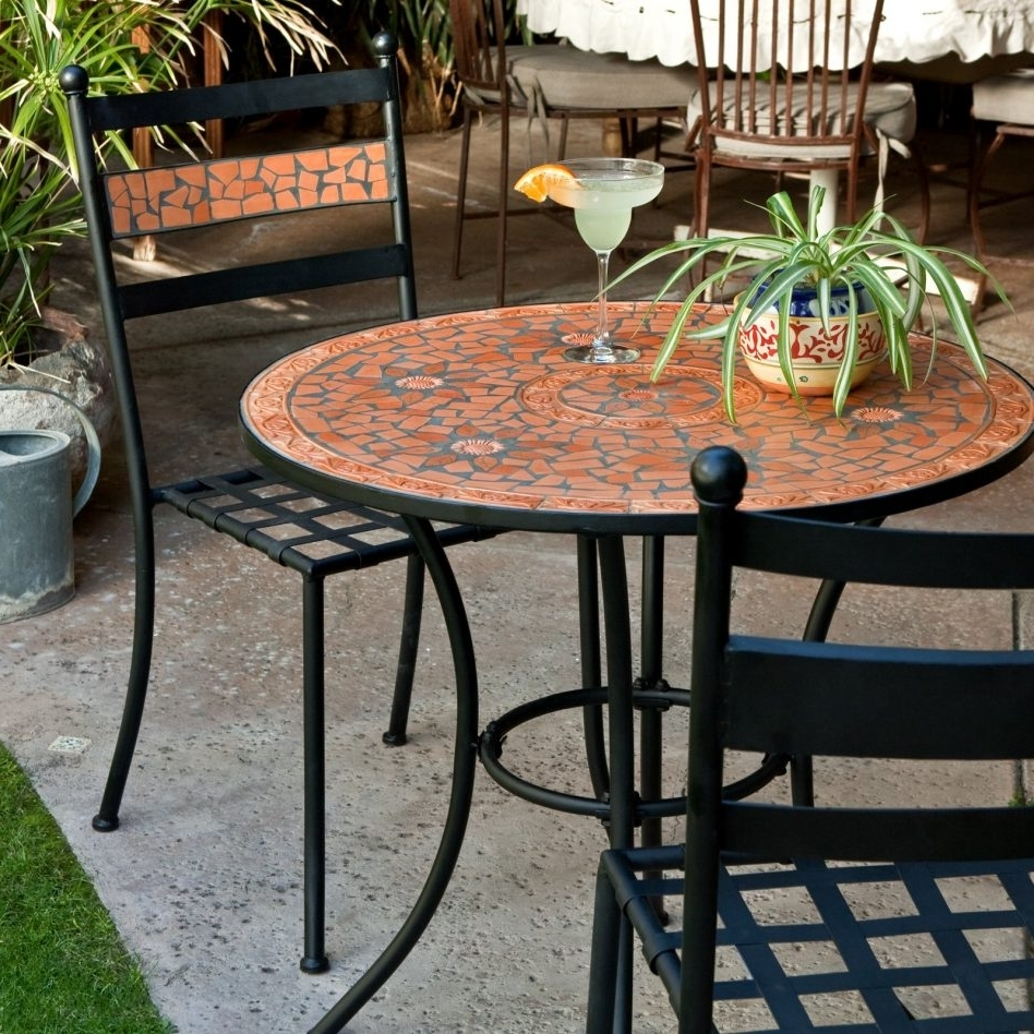 Mosaic Dining Tables For Sale Intended For Widely Used Patio: Marvellous Patio Tables For Sale Lawn Furniture Clearance (View 11 of 25)