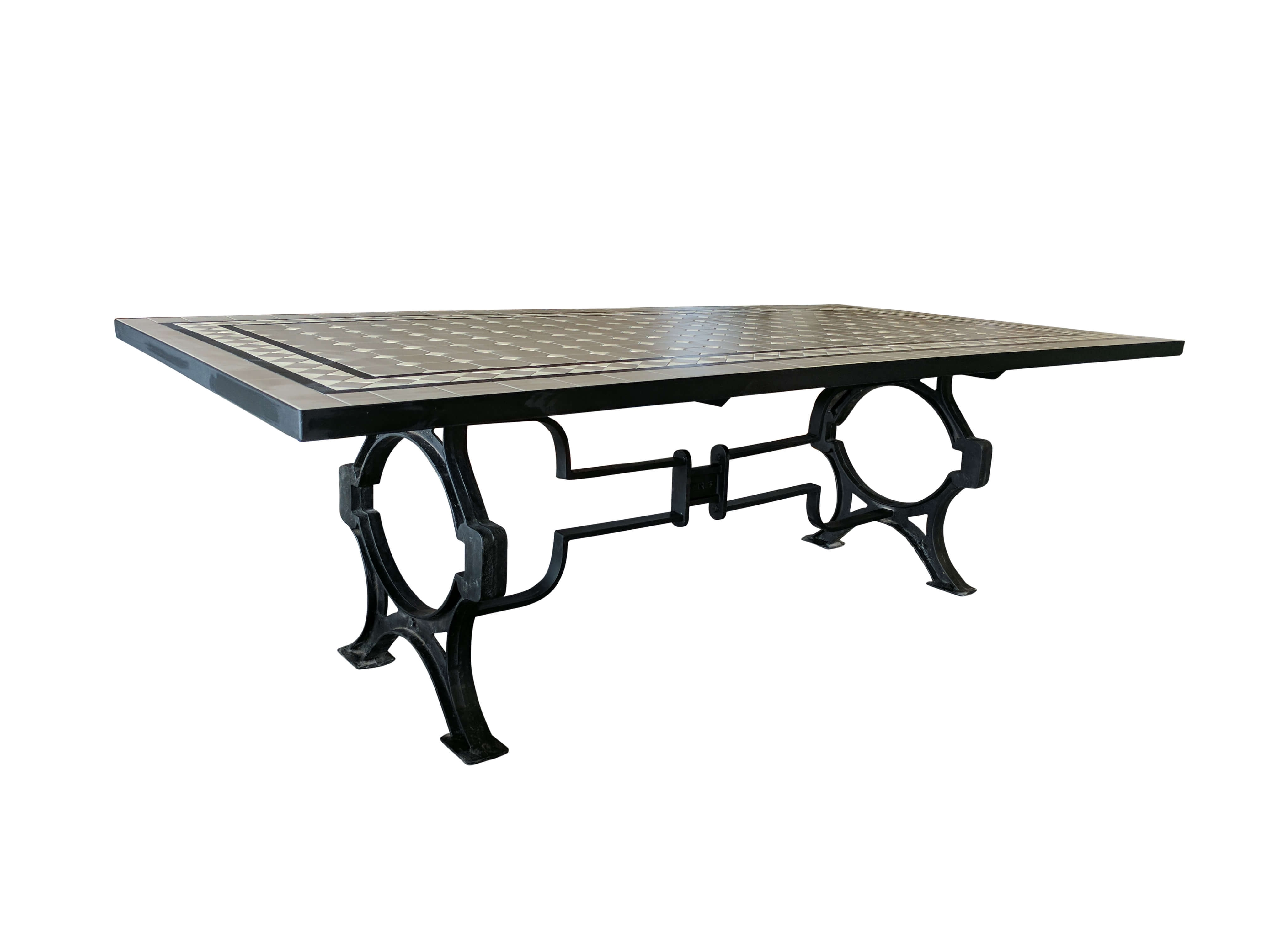 Mosaic Dining Tables For Sale With Regard To Newest Tile Dining Table (View 13 of 25)