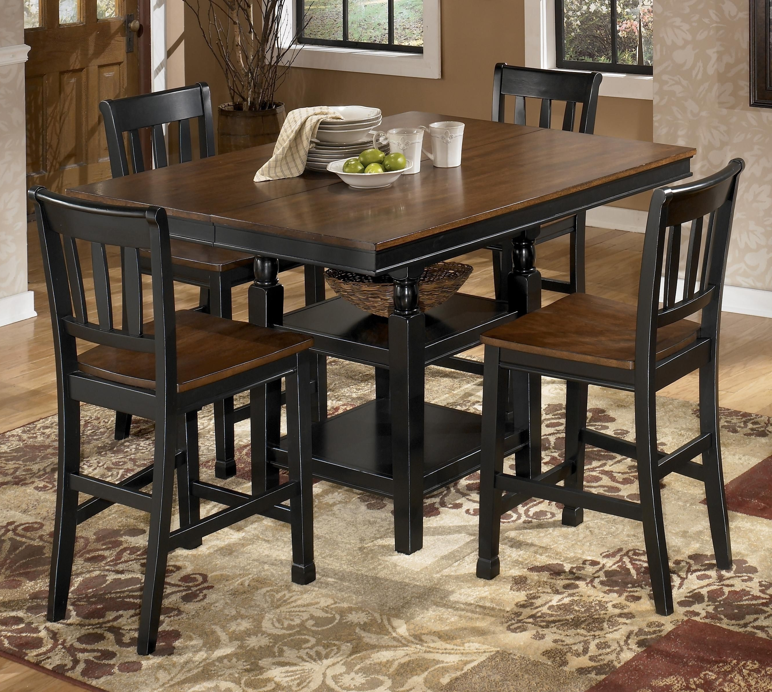 Most Current Ashton Round Pedestal Dining Table Elegant Kitchen Dining Area For Jaxon Grey 5 Piece Round Extension Dining Sets With Upholstered Chairs (View 4 of 25)