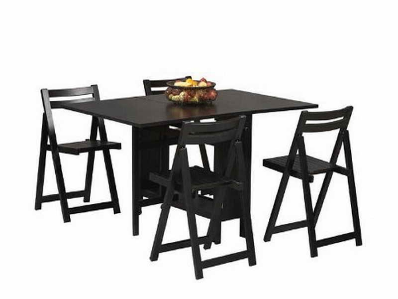 Most Current Black Dining Table With Chairs Folding Dining Table And Outdoor Throughout Black Folding Dining Tables And Chairs (View 15 of 25)