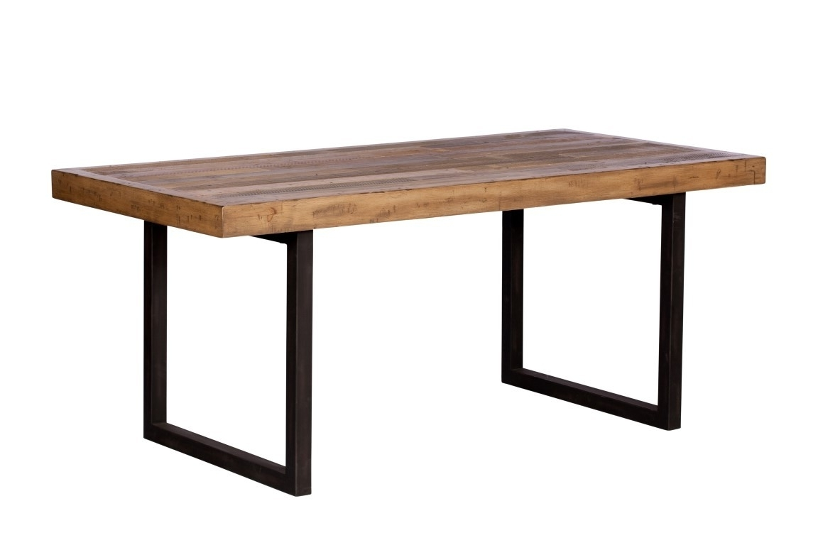 Most Current Brooklyn Industrial Dining Table 180Cm (Gallery 25 of 25)