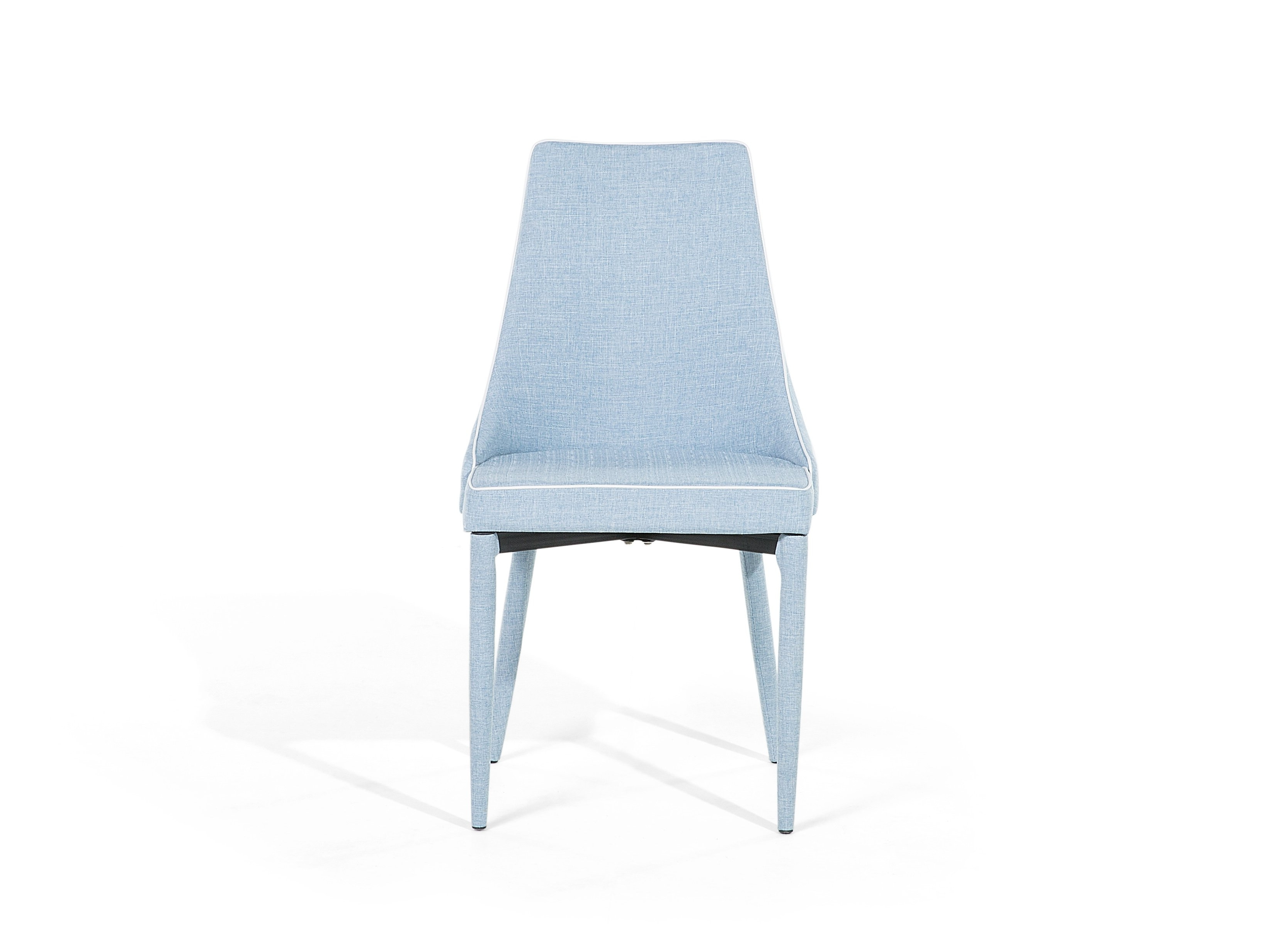 Most Current Chair Dining Chair Tulip Armless Upholstered Light Blue Ebay With Regard To Ebay Dining Chairs (View 19 of 25)