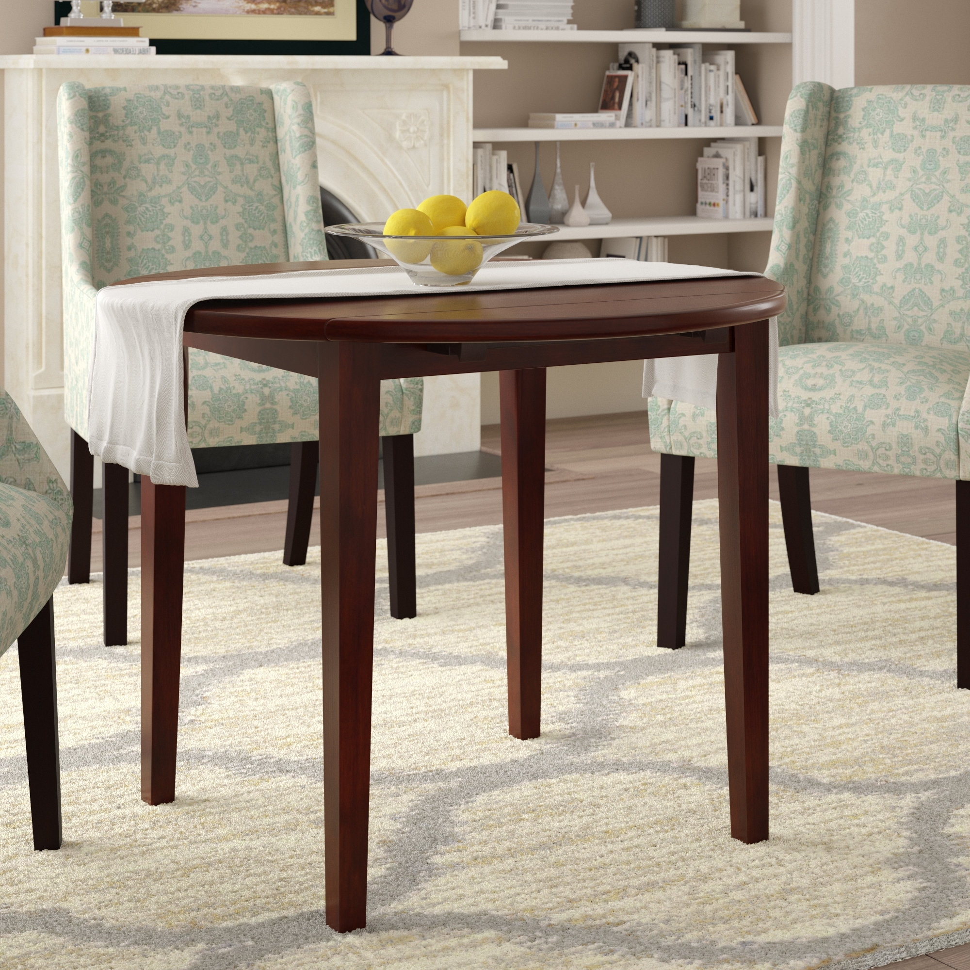 Most Current Cheap Drop Leaf Dining Tables Pertaining To Alcott Hill Kendall Drop Leaf Dining Table & Reviews (View 7 of 25)