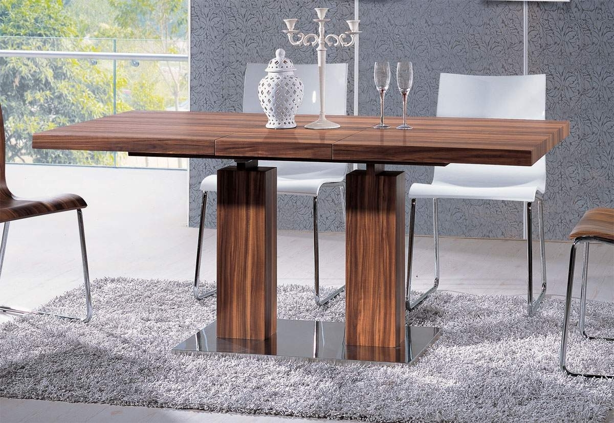 Most Current Contemporary Base Dining Tables In Versatile Transitional Durably Scaled Dining Room Table Base Pomona (View 15 of 25)