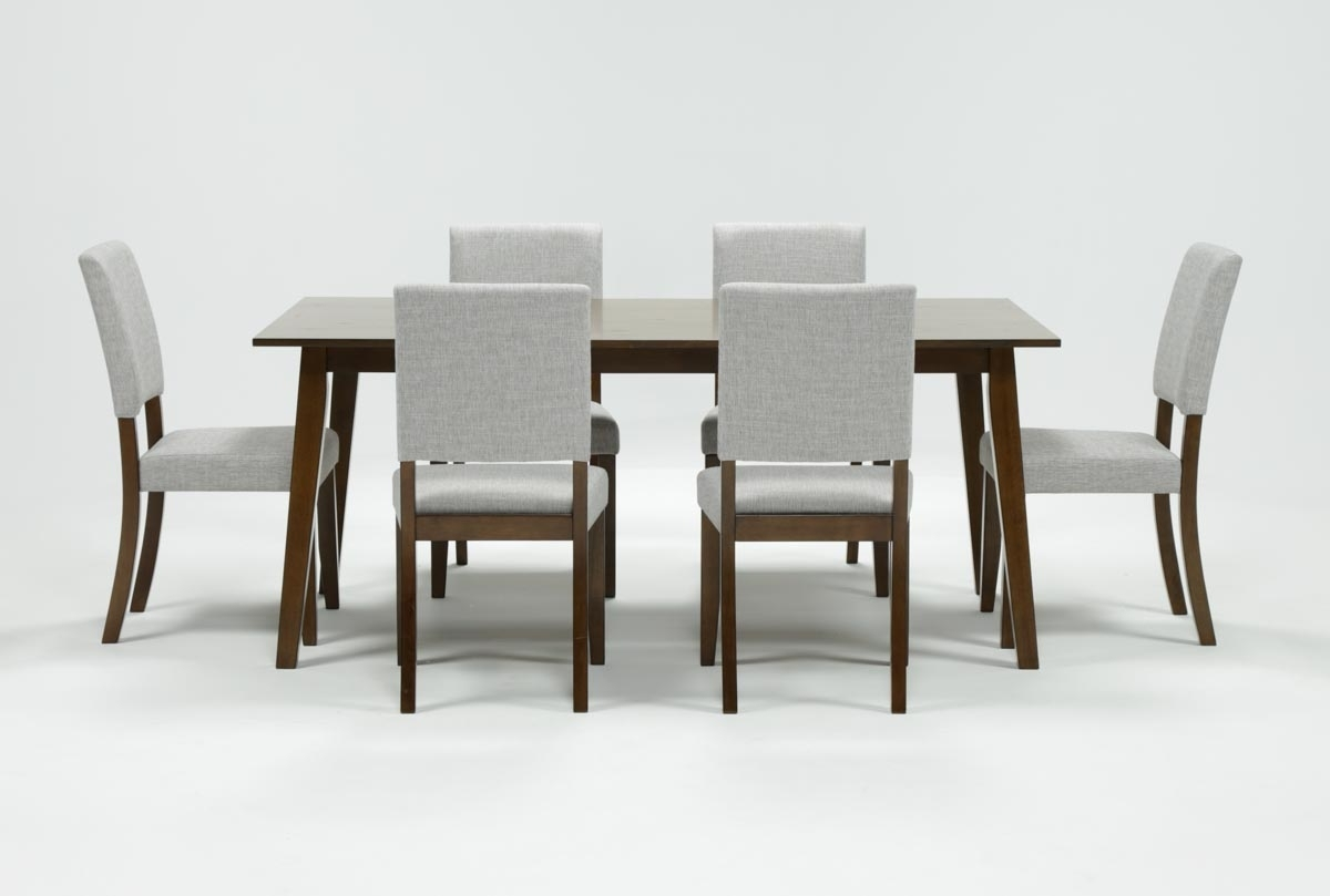 Most Current Cora 7 Piece Dining Set (View 17 of 25)