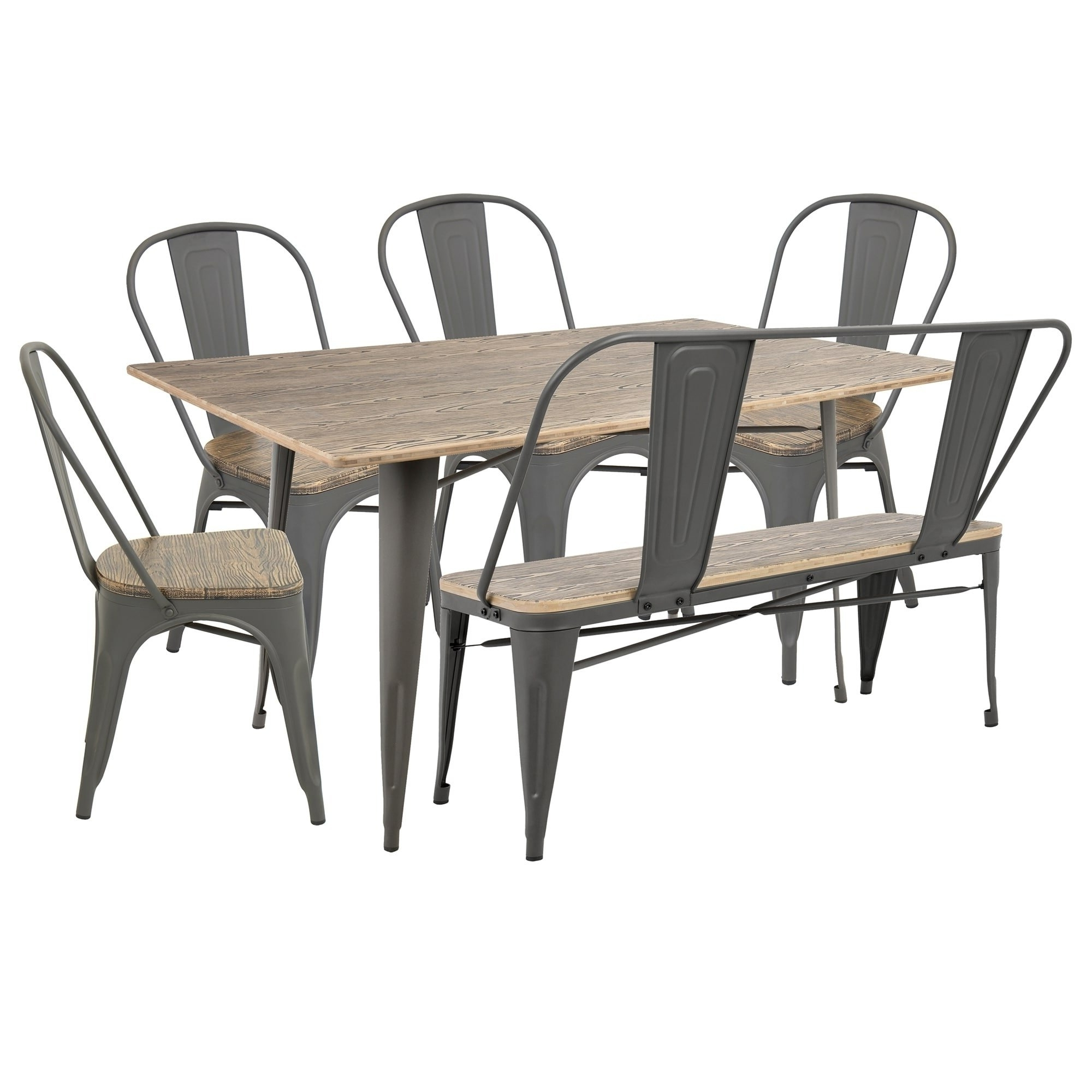 Most Current Craftsman 9 Piece Extension Dining Sets With Uph Side Chairs In Brown Kitchen & Dining Room Sets For Less (View 15 of 25)