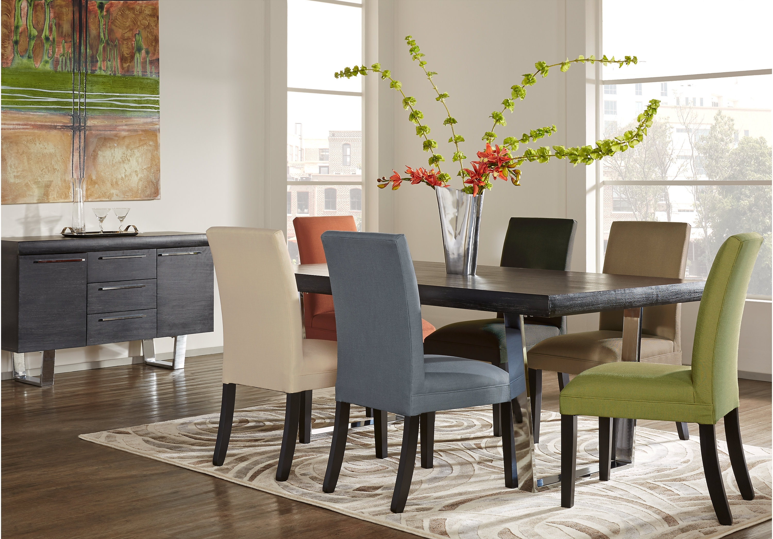 Most Current Crawford 7 Piece Rectangle Dining Sets With Regard To Dining: Awesome Cindy Crawford 7 Pc Dining Room Set With Rectangular (View 6 of 25)