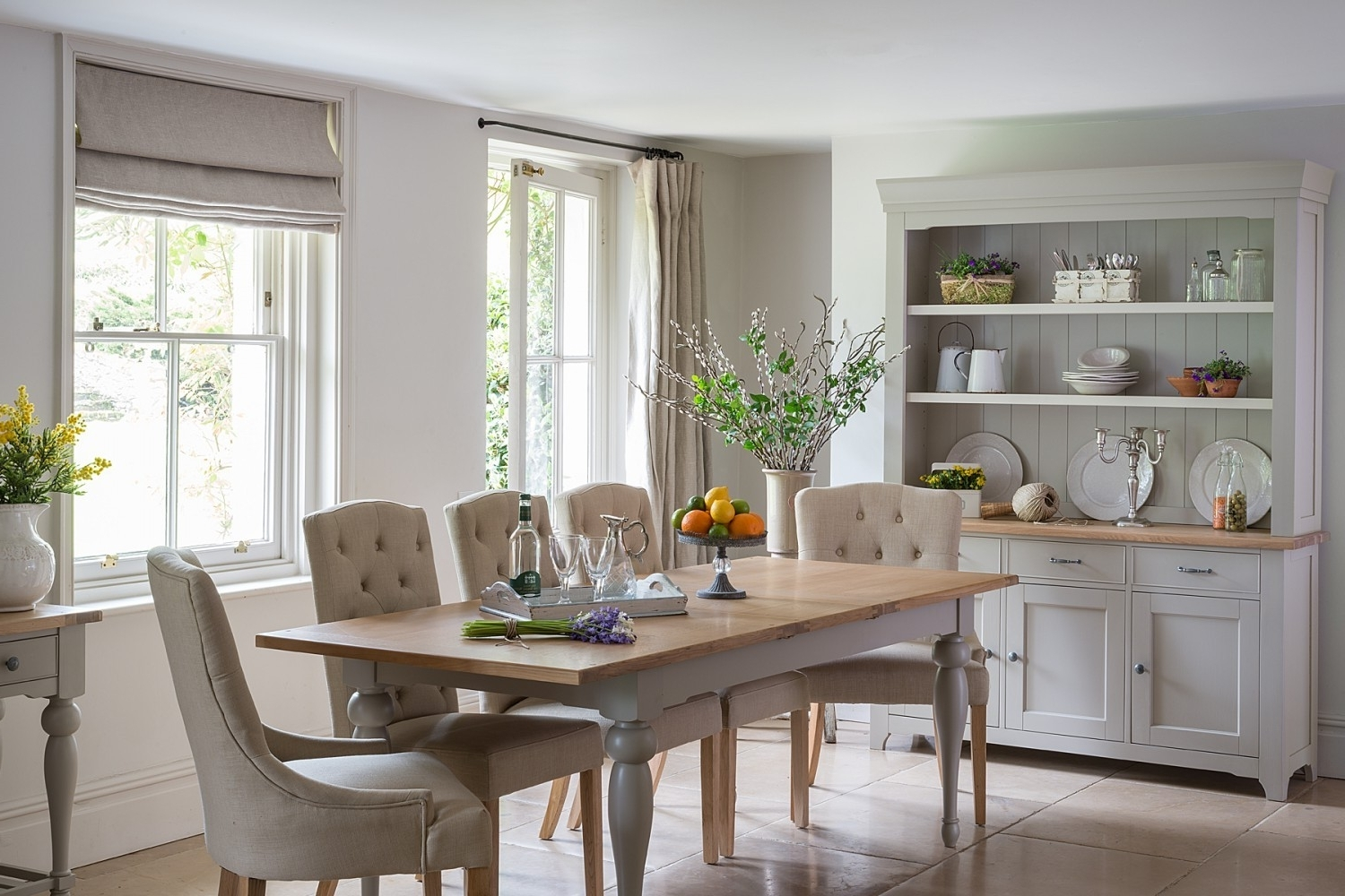 Most Current Dining Tables Grey Chairs With Malvern Extending French Dining Table – Crown French Furniture (View 16 of 25)