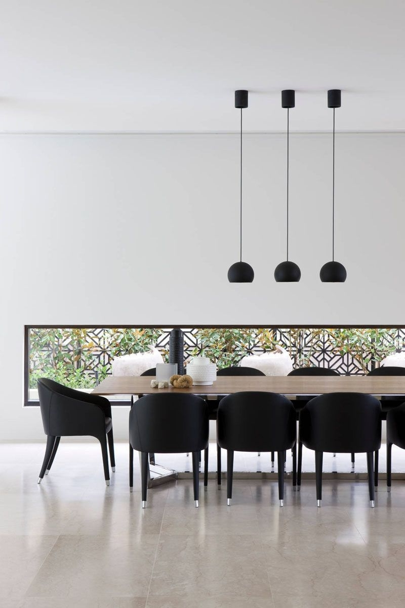 Most Current Dining Tables Lighting Intended For Lighting Design Idea – 8 Different Style Ideas For Lighting Above (View 21 of 25)