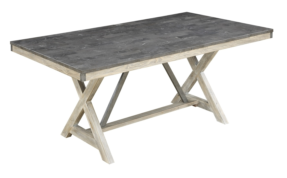 """Most Current Edmonton Dining Tables Intended For Coaster Edmonton 66""""l 106321 Dining Table (View 17 of 25)"""
