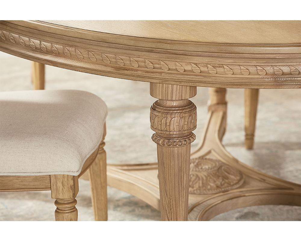 Most Current English Country Oval Dining Table – Magnolia Home Regarding Magnolia Home English Country Oval Dining Tables (View 18 of 25)
