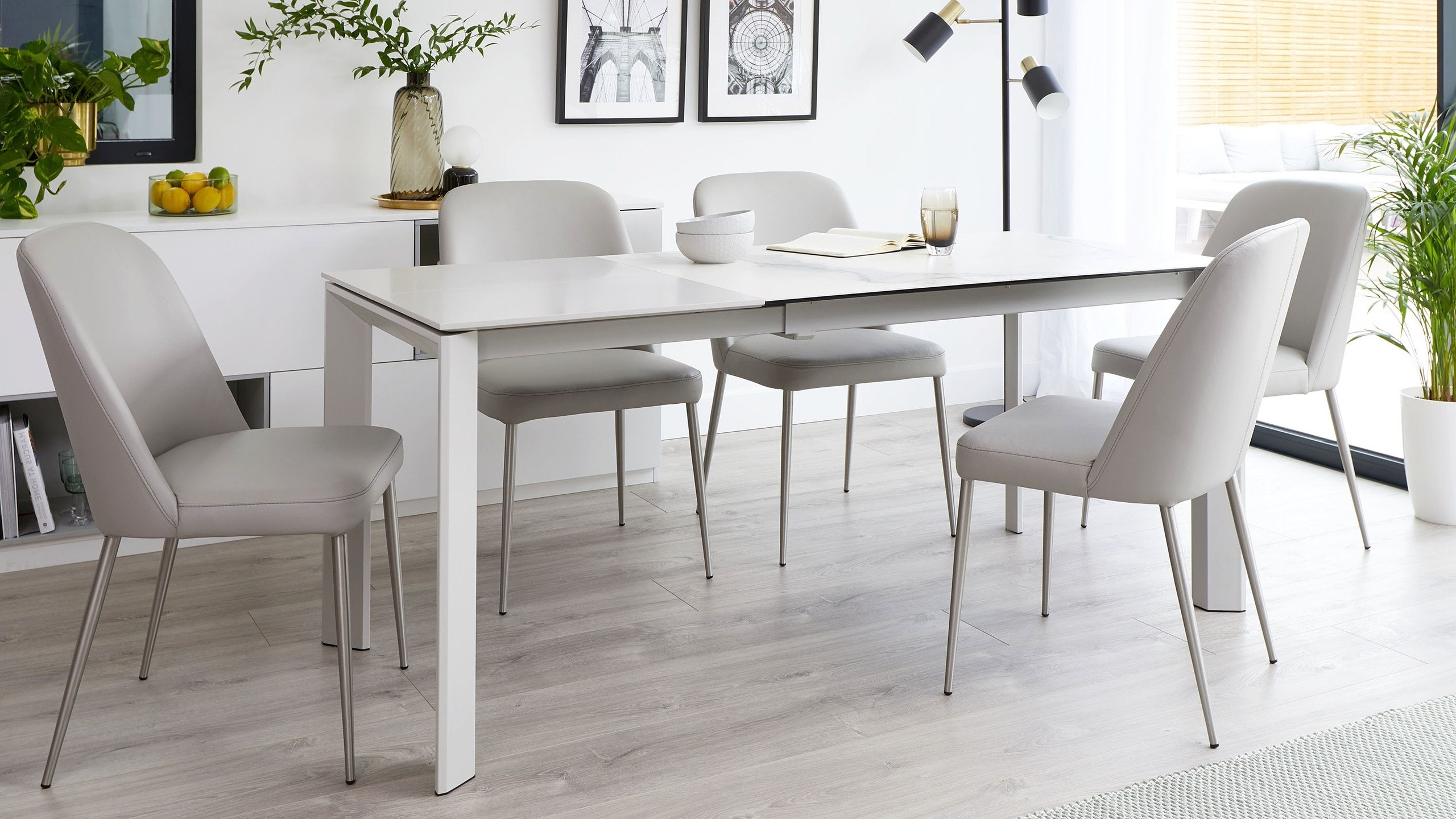Most Current Extending Marble Dining Tables Pertaining To Louis Extending Dining Table: Product Spotlight – Danetti Lifestyle (View 16 of 25)