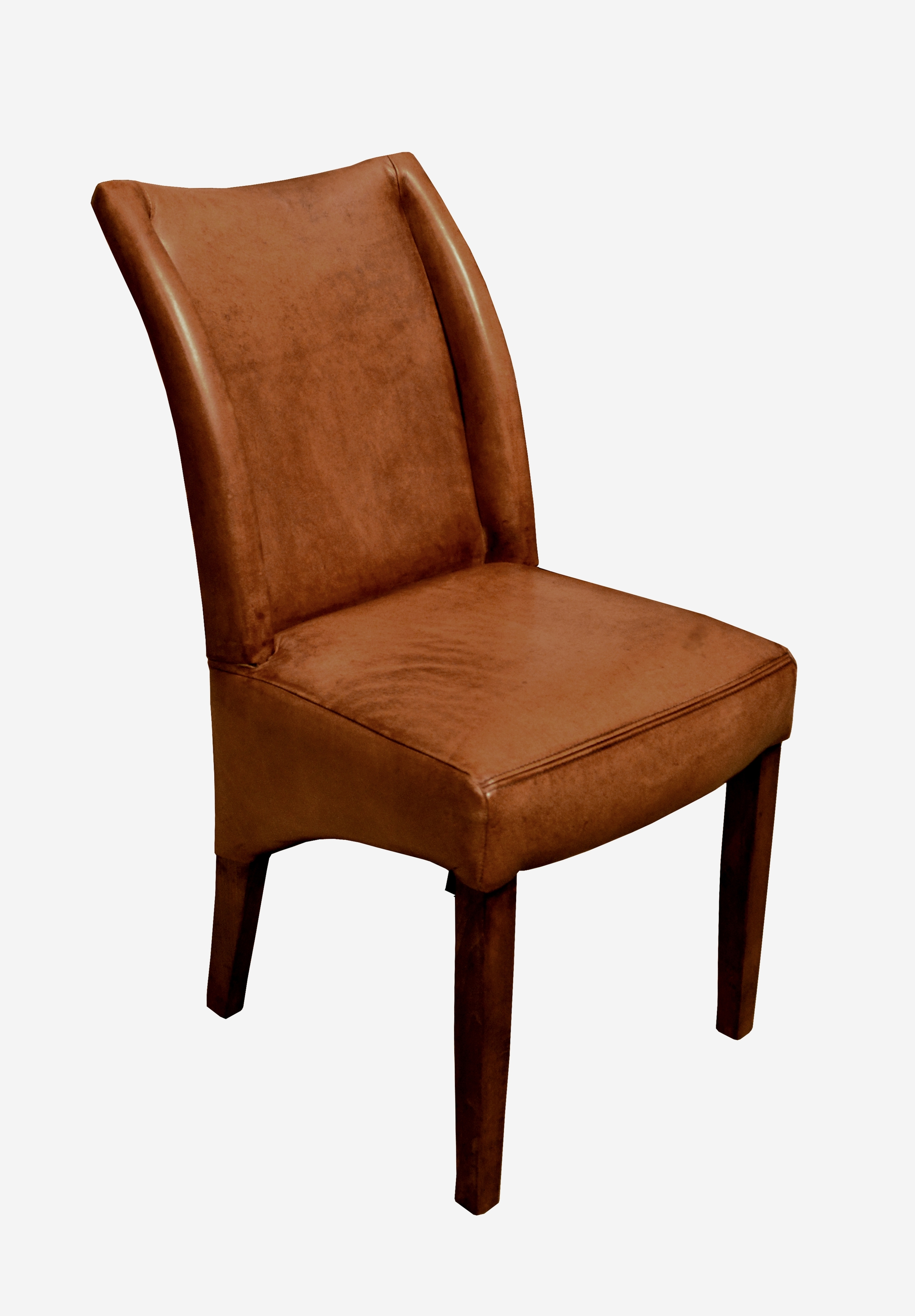 Most Current Faux Leather Mayfair High Back Dining Chair Modern Wood Dining Chairs In High Back Leather Dining Chairs (View 16 of 25)
