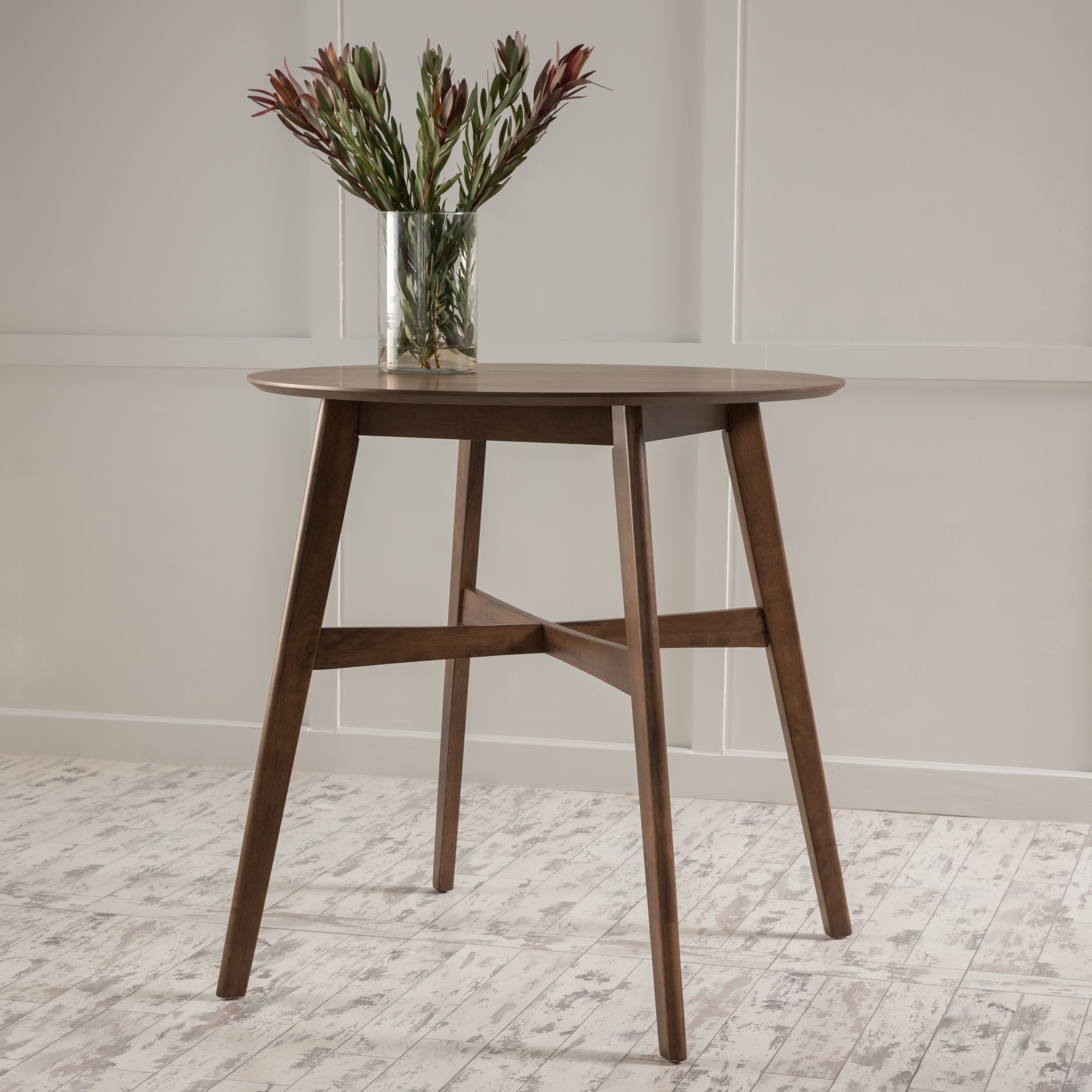 Most Current Gavin 7 Piece Dining Sets With Clint Side Chairs Intended For Shop Gavin Wood Counter Height Tablechristopher Knight Home (View 10 of 25)