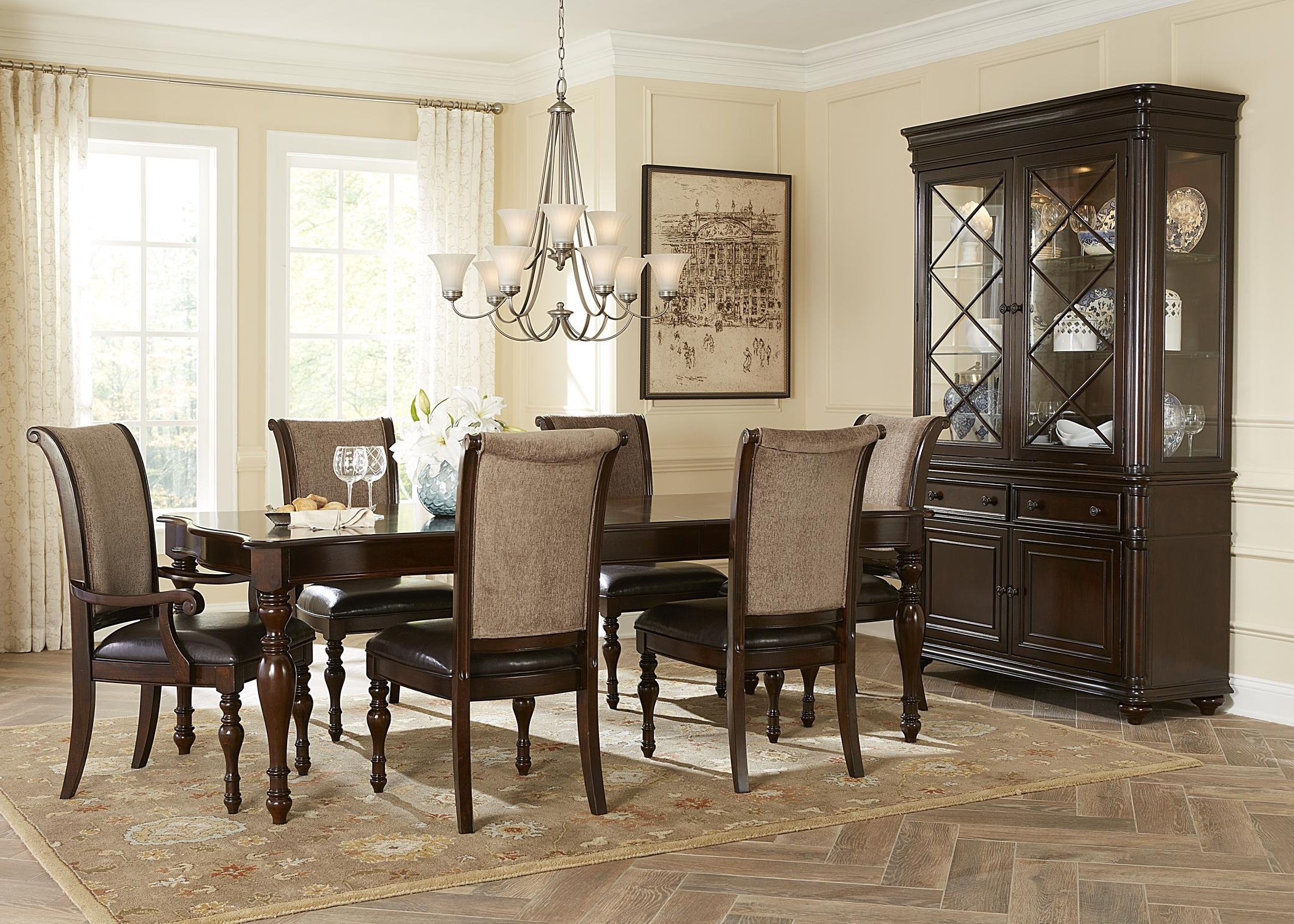 Most Current Kingston Dining Tables And Chairs Throughout Liberty Furniture Kingston Plantation Writing Desk With Three (View 12 of 25)