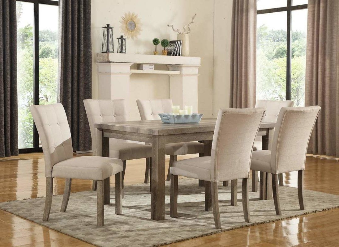 Most Current Kirsten 5 Piece Dining Sets In Urban 7 Piece Dining Set (View 17 of 25)