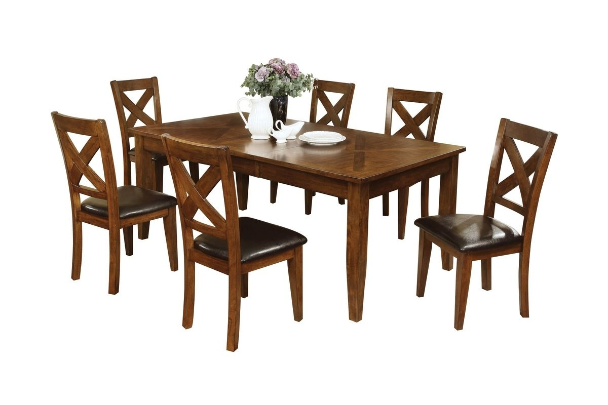 Most Current Lidia Dining Table + 6 Chairs At Gardner White With White Dining Tables And 6 Chairs (View 13 of 25)