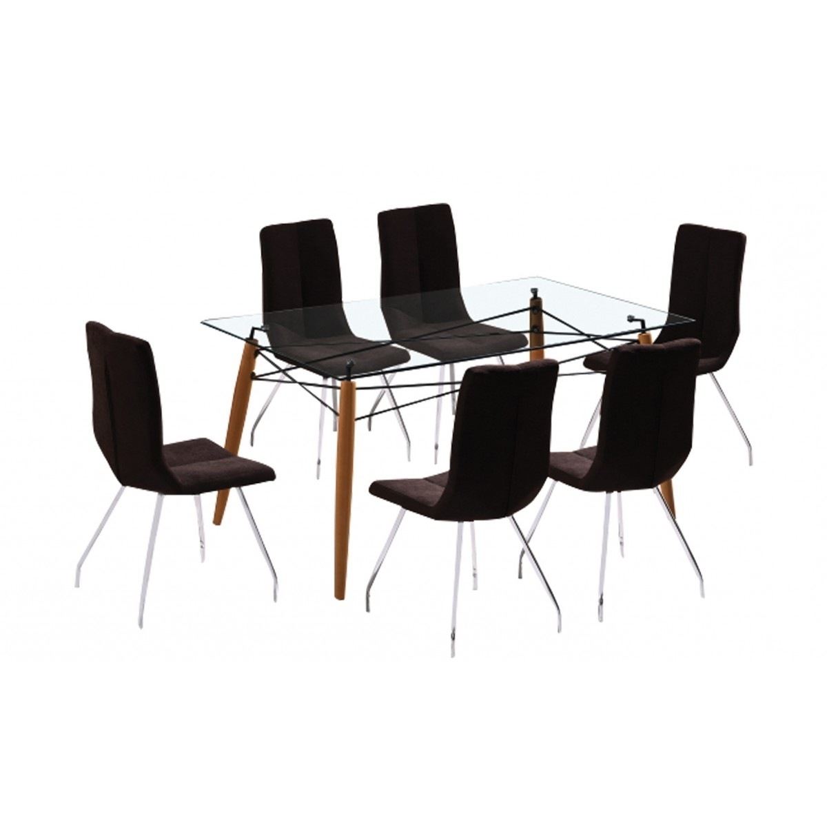Most Current Logan 7 Piece Dining Sets Inside Logan 7 Piece Dining Set (View 8 of 25)