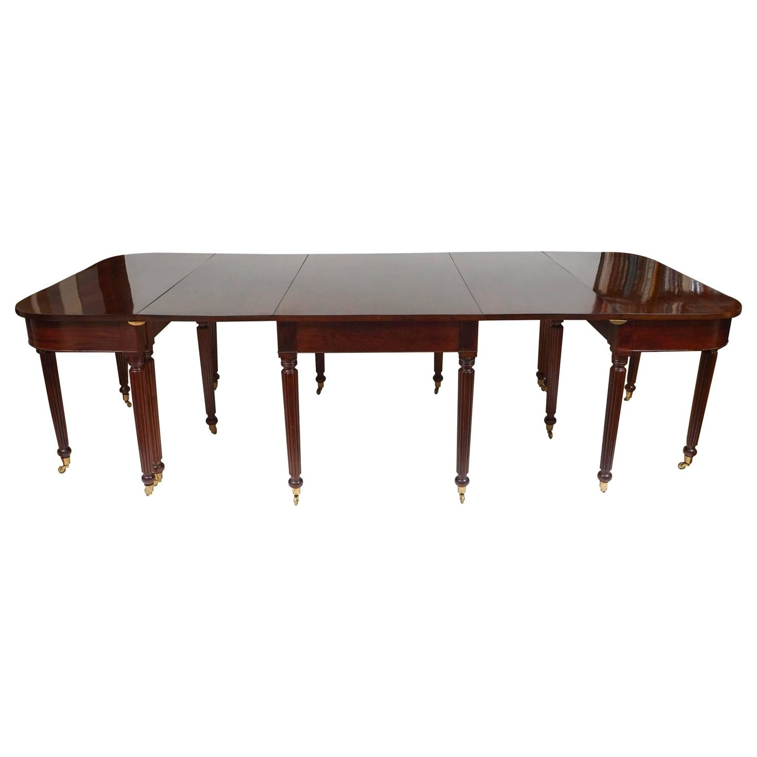 Most Current Mahogany Extending Dining Tables Regarding Sheraton Mahogany Extending Dining Table, Boston, Massachusetts (View 17 of 25)