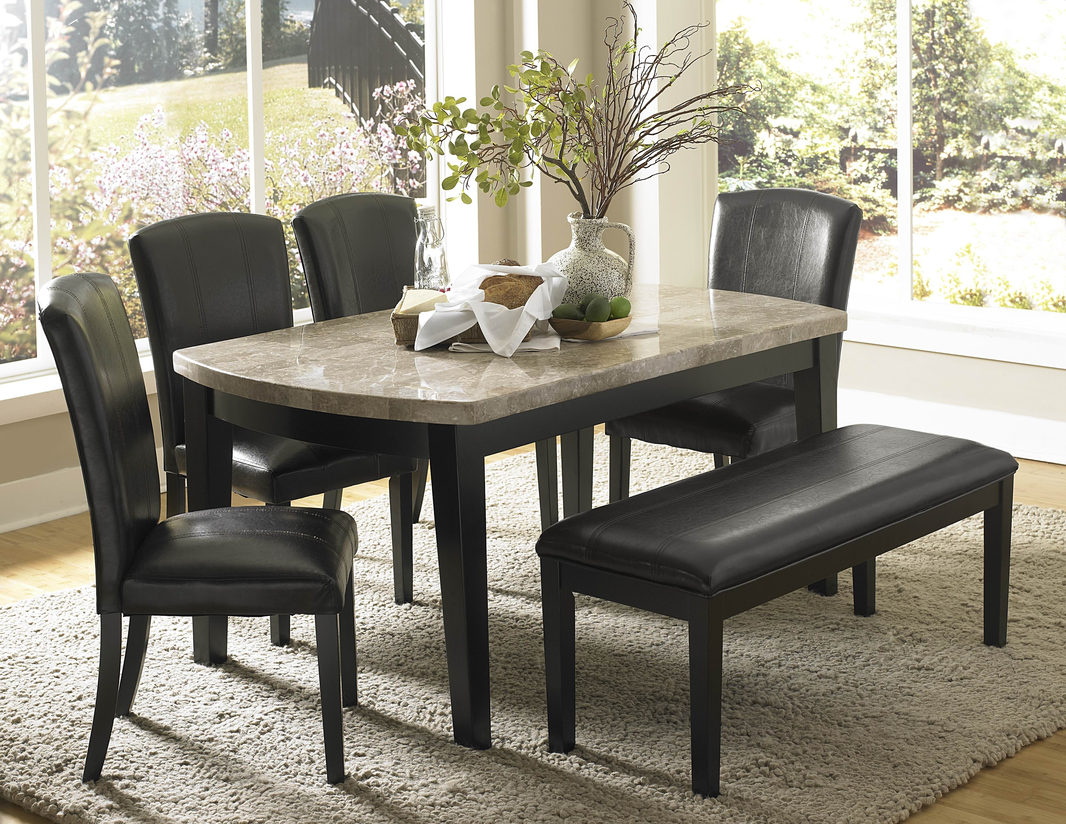 Most Current Marble Dining Room Table Set – Castrophotos Intended For Solid Marble Dining Tables (View 11 of 25)