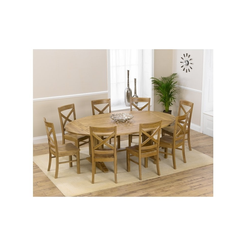 Most Current Mark Harris Furniture Cavanaugh Oak Dining Table – 165Cm Rectangular For Extendable Oak Dining Tables And Chairs (View 23 of 25)