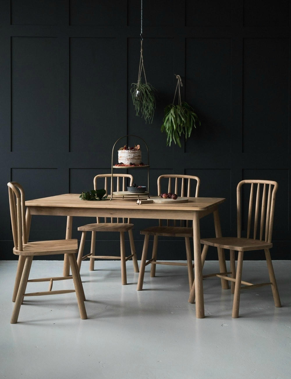 Most Current Nordic Wooden Dining Tablerose & Grey With Regard To Delfina Dining Tables (View 19 of 25)
