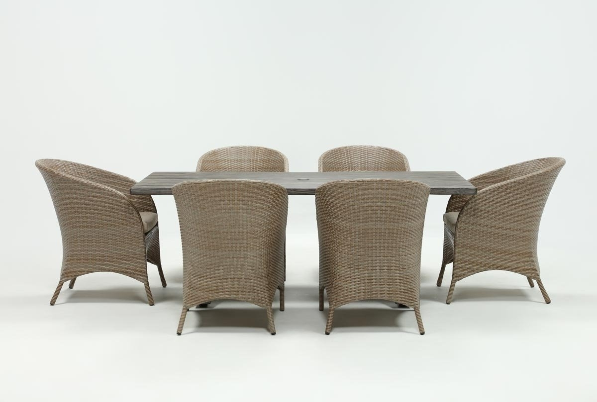 Most Current Outdoor Tortuga Dining Tables Intended For Outdoor Tortuga Dining Table With Ibiza Dining Chairs (View 8 of 25)