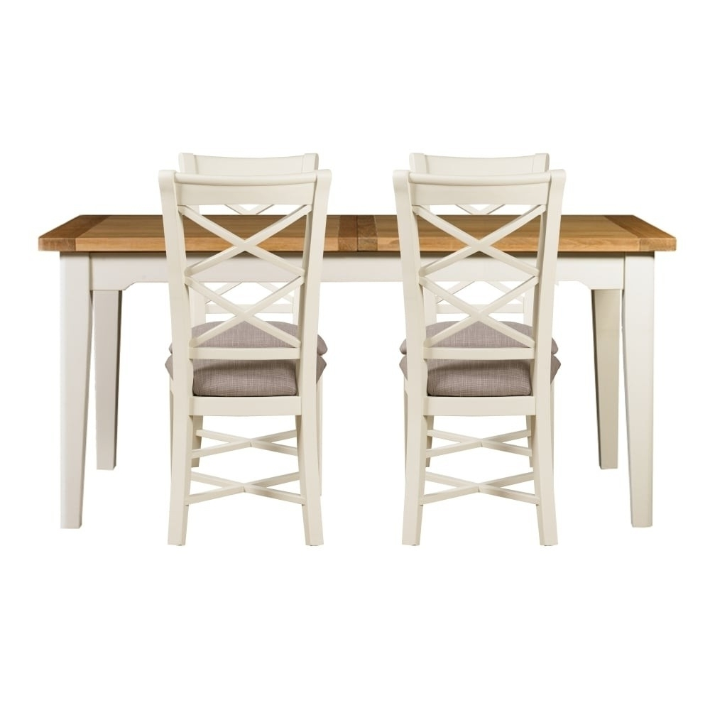 Most Current Padstow Small Extending Dining Table & Chairs  Swagger Inc Pertaining To Small Extending Dining Tables And Chairs (View 22 of 25)