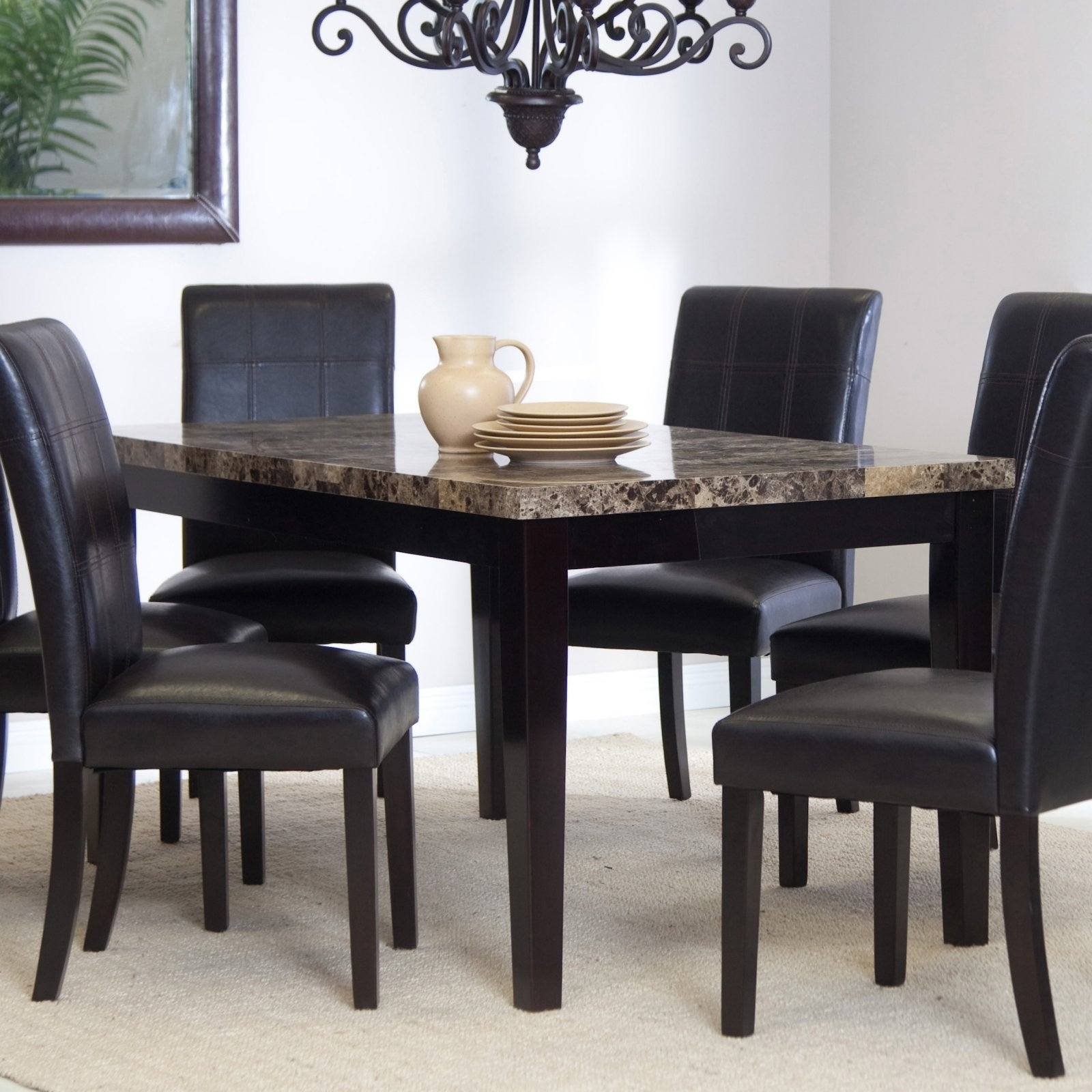 Most Current Palazzo 3 Piece Dining Table Sets For Palazzo Dining Table – Walmart (View 9 of 25)