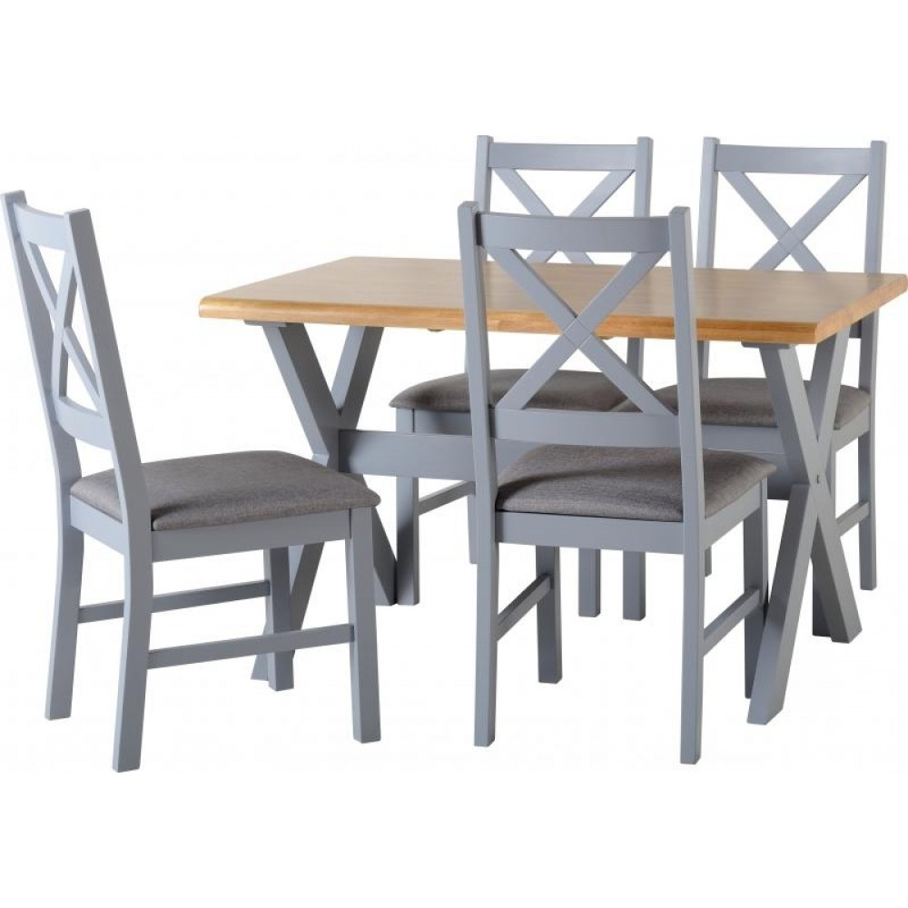 Most Current Portland Dining Tables Within Portland Dining Set Grey (View 9 of 25)