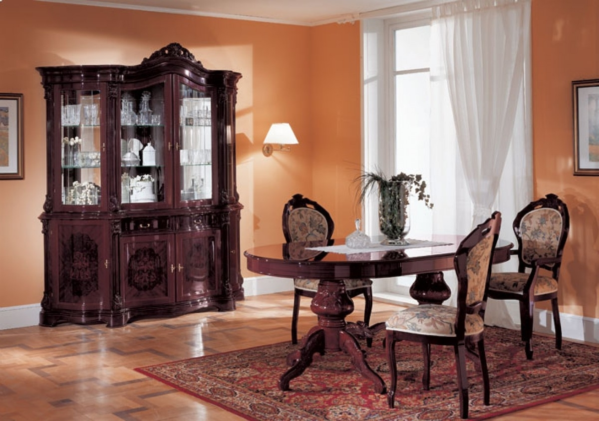 Most Current Regina Traditional Dining Set Intended For Mahogany Dining Tables Sets (View 21 of 25)