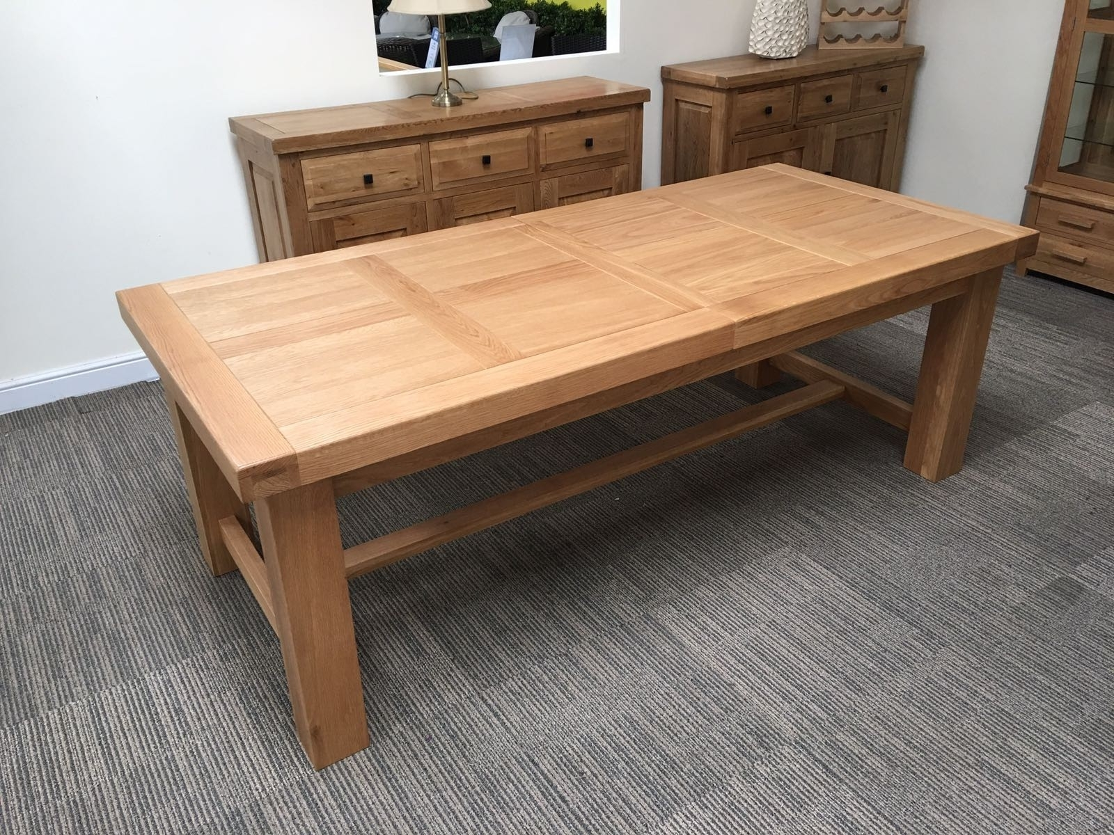 Most Current Solid Oak Dining Tables For Modern Solid Oak Dining Table Design Ideas – Home Decor Ideas (View 3 of 25)