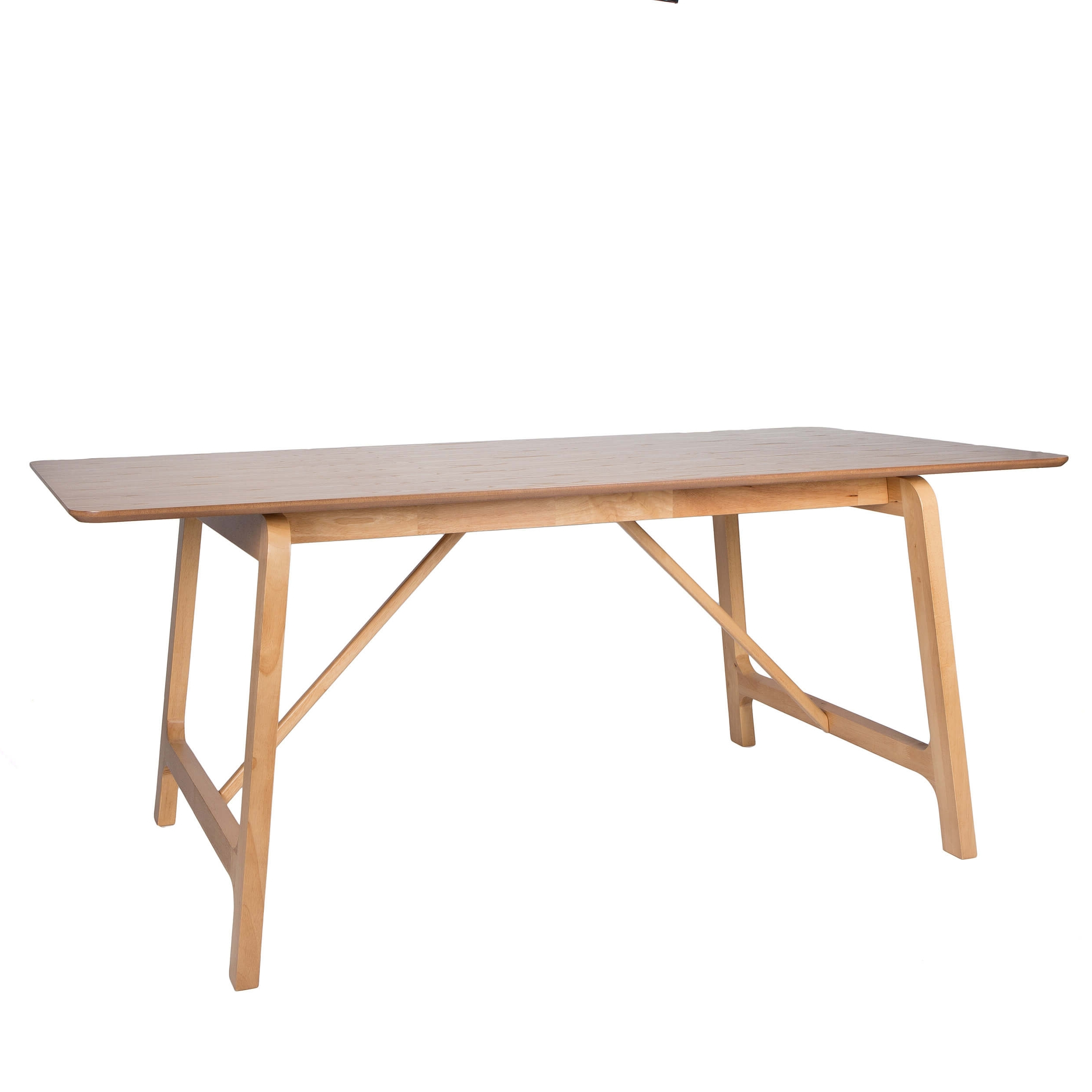 Most Current Trestle Dining Table In Warm Oak – Seats 6 – Sienna For Outdoor Sienna Dining Tables (View 7 of 25)
