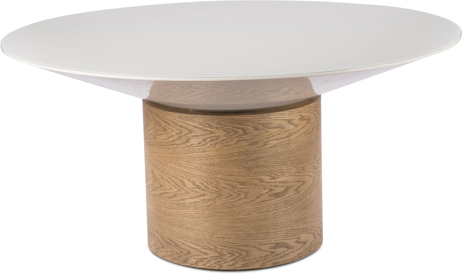 Most Current Tulipa Dining Table Beige Oak Inside Helms Round Dining Tables (View 21 of 25)