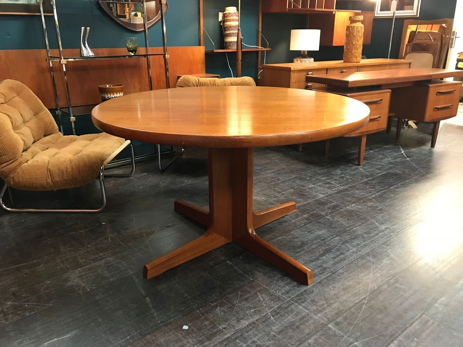Most Current Victor Dining Table Beautiful Vintage Double Extending Dining Table For Victor Dining Tables (View 11 of 25)