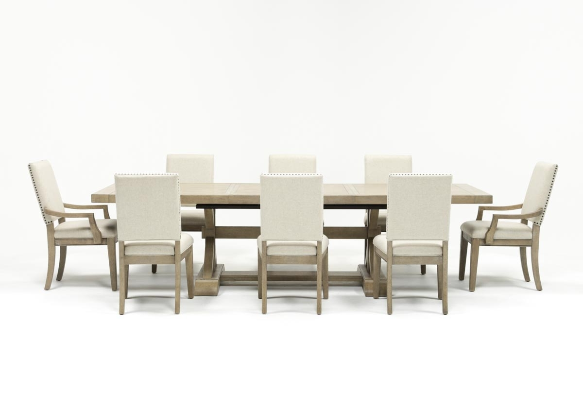 Most Current Walden Extension Dining Tables Pertaining To Walden 9 Piece Extension Dining Set (View 2 of 25)
