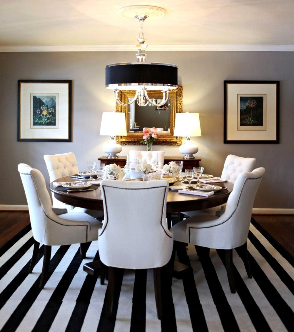 Most Current White Leather Dining Room Chairs Within Spectacular White Leather Dining Room Chairs Modern Black White (Gallery 3 of 25)