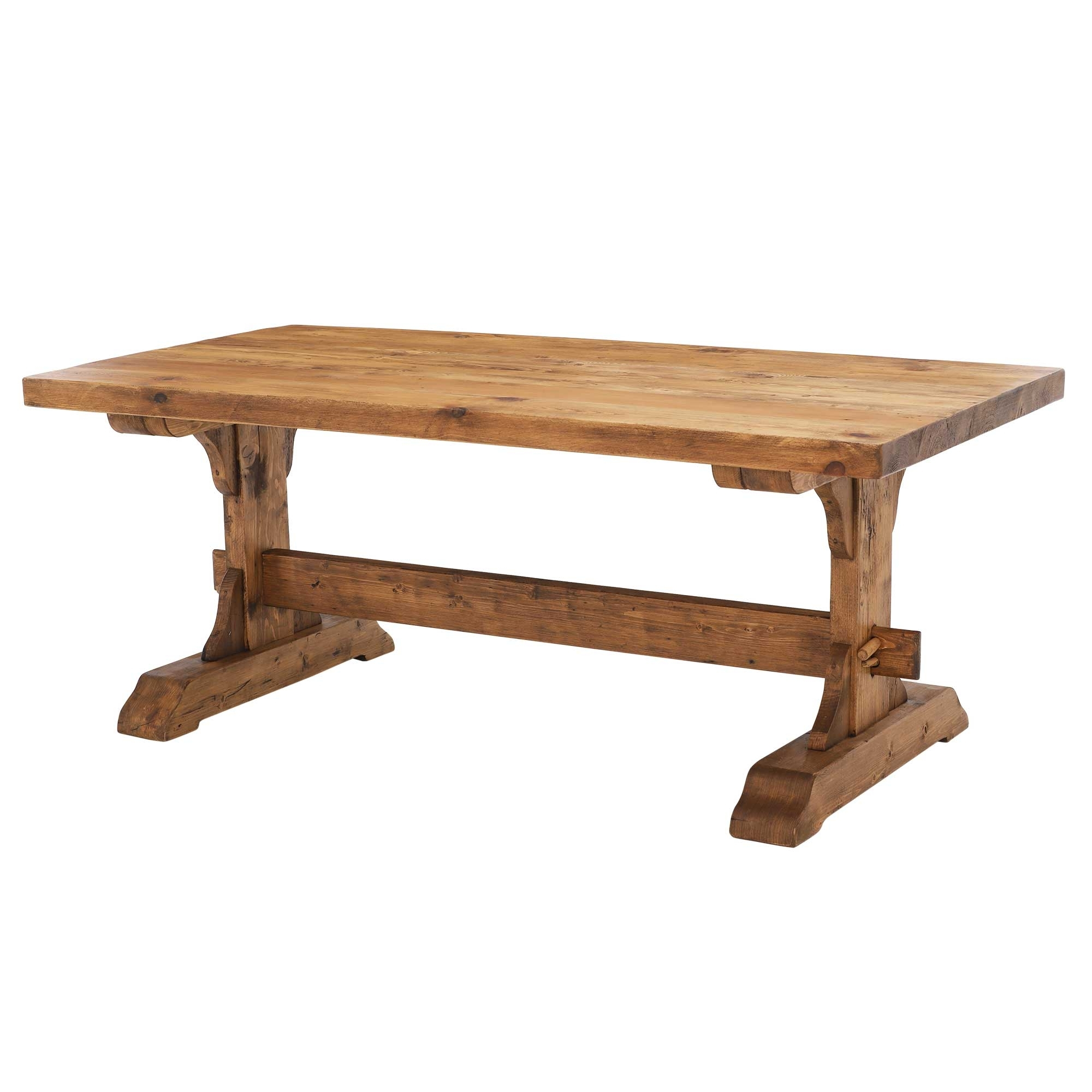 Most Current Wood Dining Tables With Covington Reclaimed Wood Dining Table (View 14 of 25)