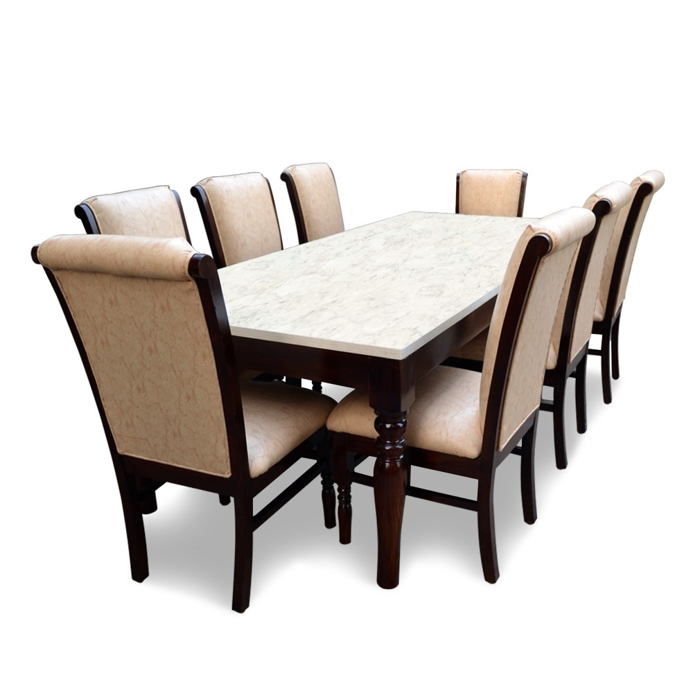 Most Popular 8 Seater Dining Tables And Chairs Regarding Helena 8 Seater Dining Table Set – All Dining Table Sets – Dining (View 9 of 25)