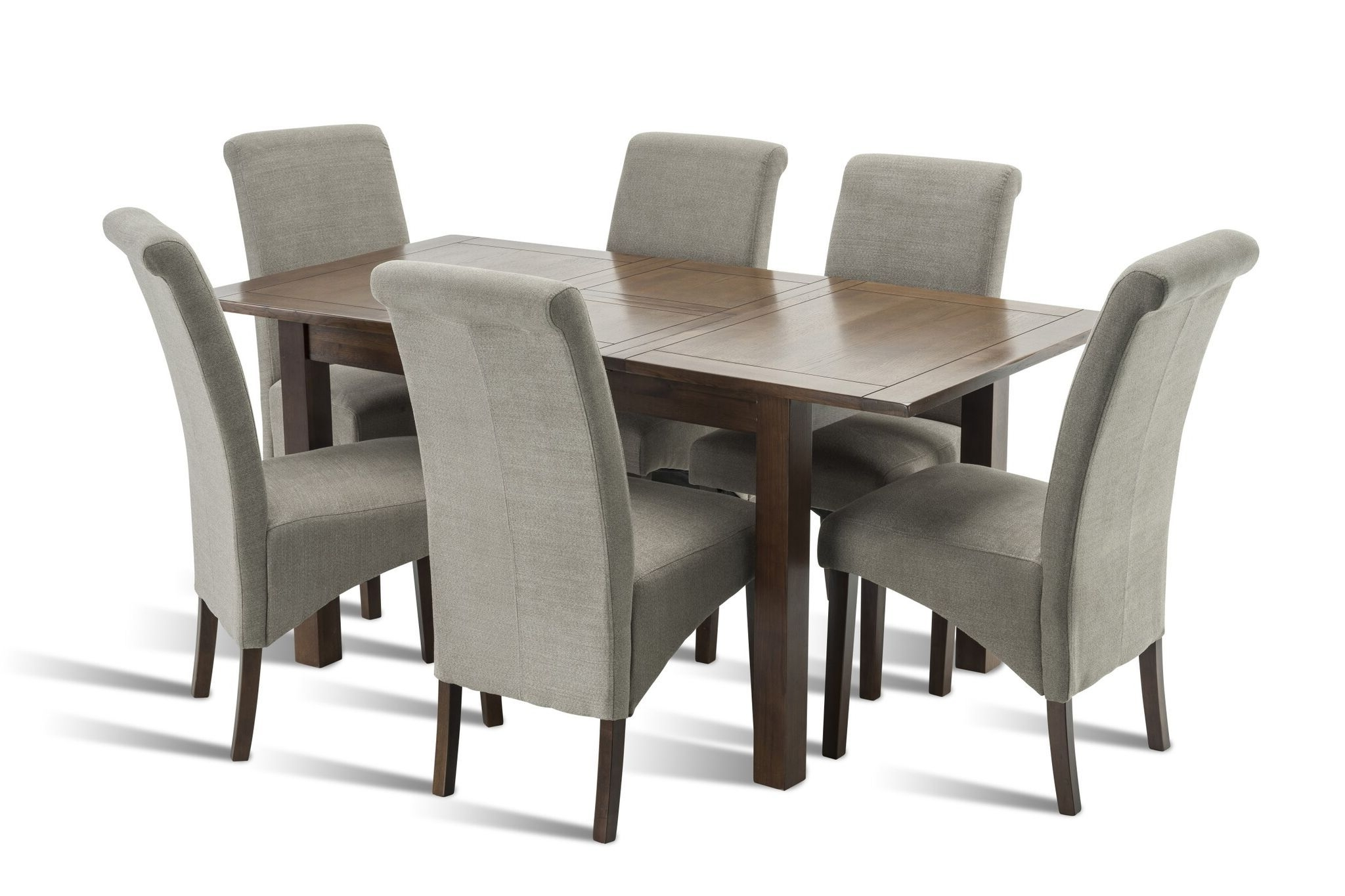 Most Popular Benson Rectangle Dining Tables Pertaining To Benson Rich Walnut Dining Table (View 21 of 25)
