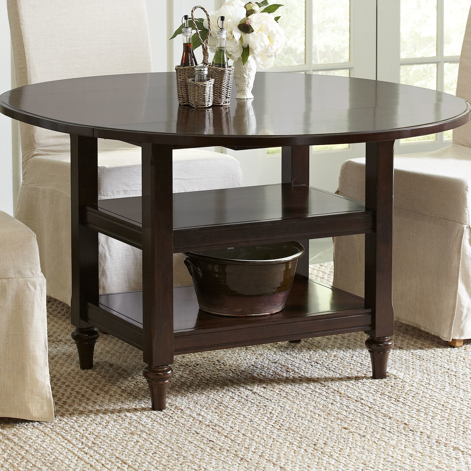 Most Popular Birch Lane™ Burke Drop Leaf Dining Table & Reviews (View 16 of 25)