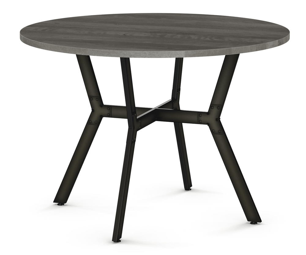 Most Popular Brisk Round Dining Table – Decorium Furniture Throughout Round Dining Tables (Gallery 21 of 25)