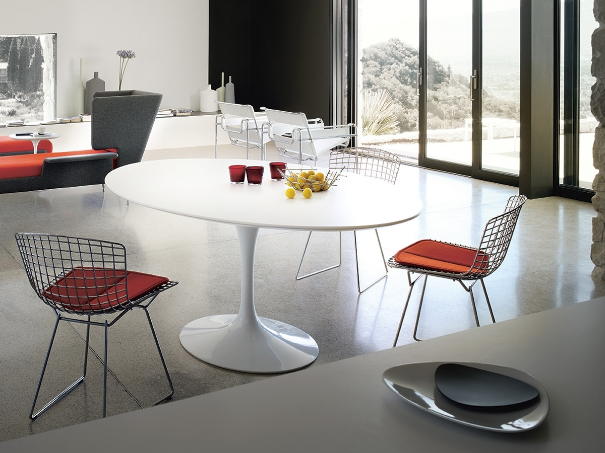 Most Popular Buy The Knoll Saarinen Tulip Dining Table – Oval At Nest.co (View 4 of 25)
