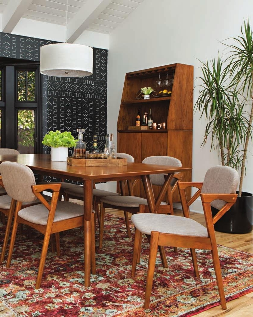 Most Popular Caira 9 Piece Extension Dining Sets With Diamond Back Chairs Intended For Where Home Is Made (View 21 of 25)