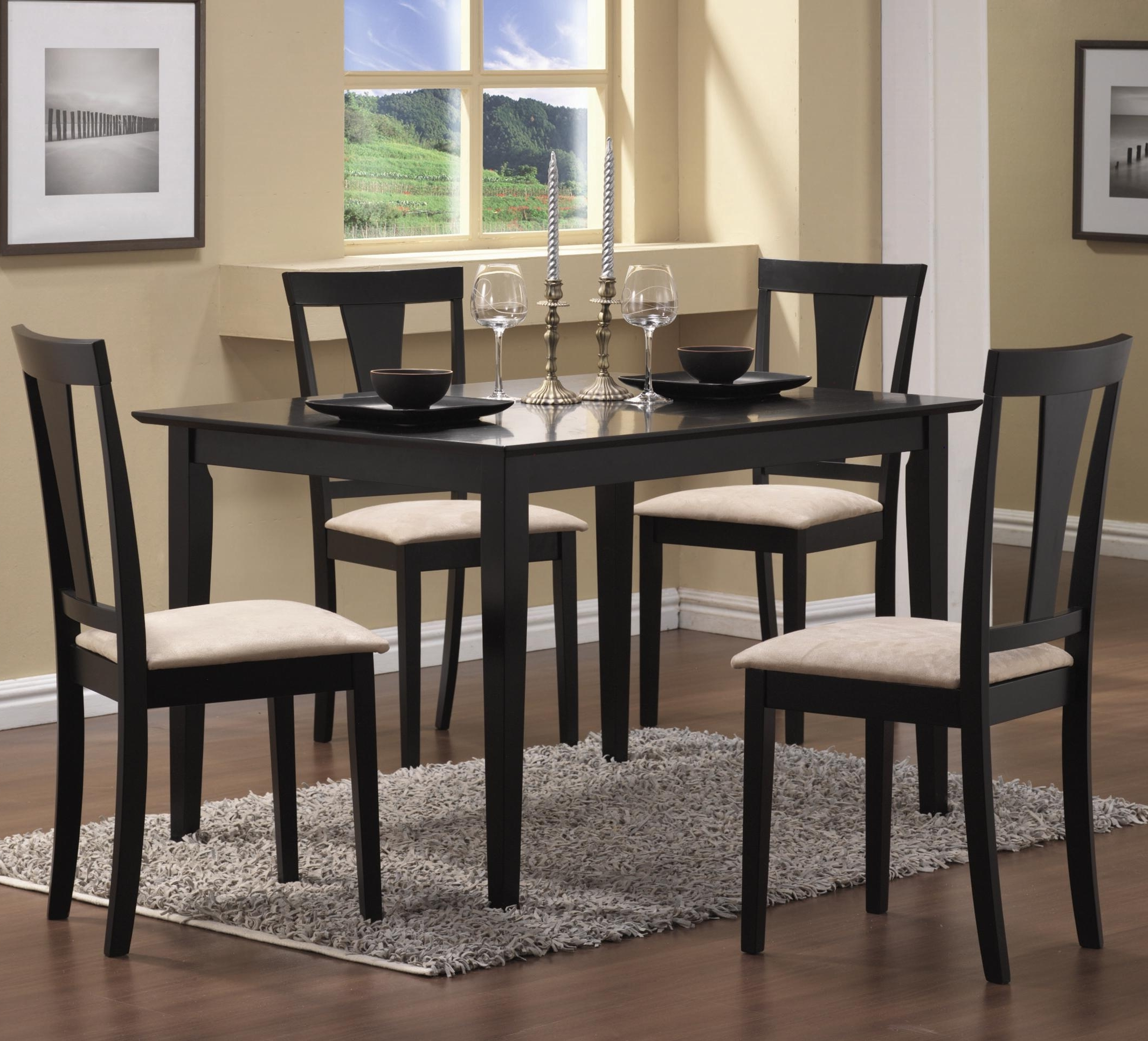 Most Popular Cheap Dining Tables And Chairs In Santa Clara Furniture Store, San Jose Furniture Store, Sunnyvale (Gallery 20 of 25)