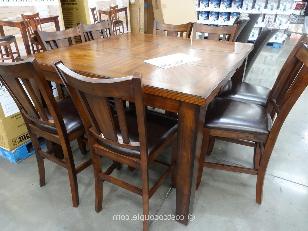 Most Popular Cheery Caira Piece Extension Set Back Chairs Caira Piece Extension Regarding Chapleau Ii 9 Piece Extension Dining Tables With Side Chairs (View 24 of 25)