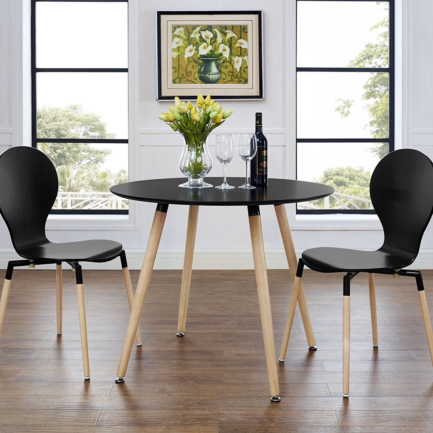 Most Popular Circle Dining Tables Regarding Twenty Dining Tables That Work Great In Small Spaces – Living In A (View 20 of 25)