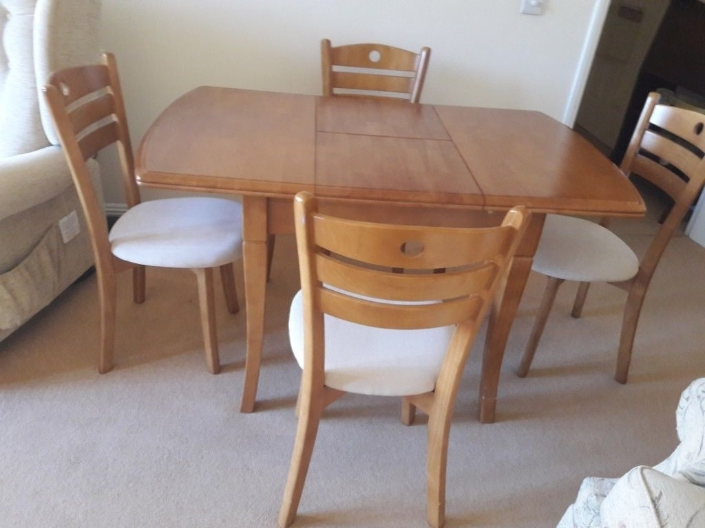 Most Popular Compact Dining Table And 4 Chairs (View 13 of 25)