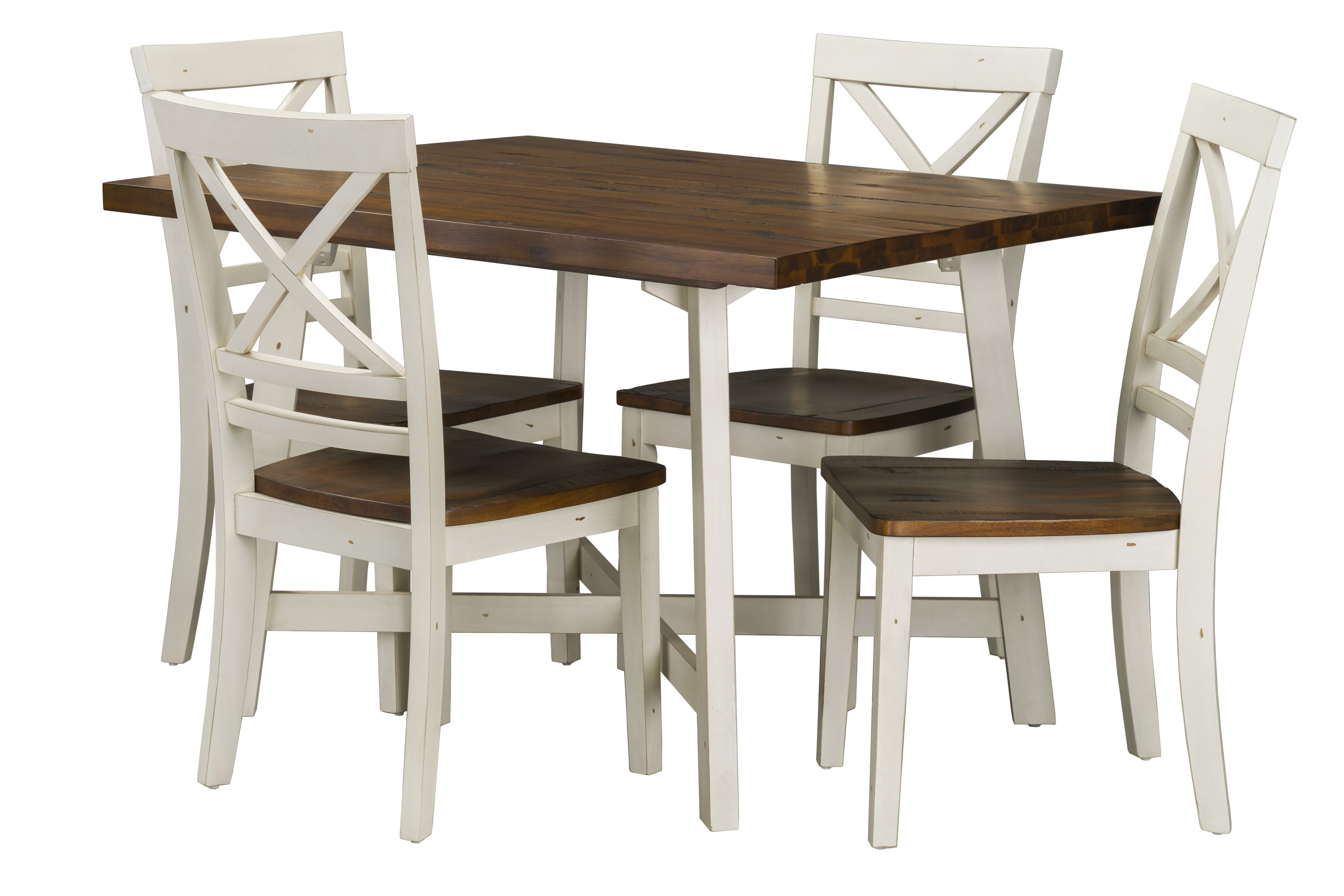 Most Popular Cora 5 Piece Dining Sets Inside Dunnes 5 Piece Dining Set & Reviews (Gallery 2 of 25)