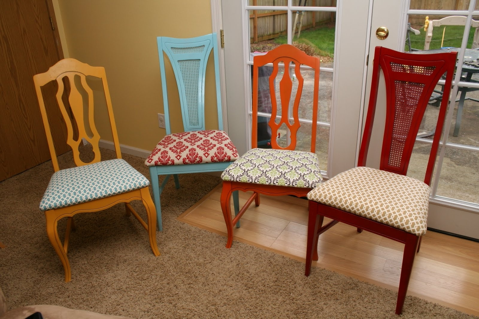 Most Popular Dining Room Chairs Colorful — Bluehawkboosters Home Design Intended For Dining Room Chairs (View 21 of 25)